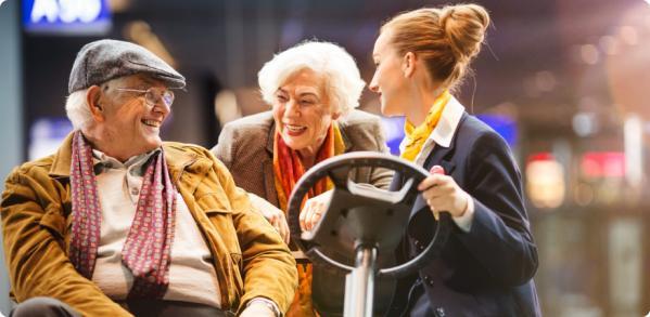 Aeroport securite seniors