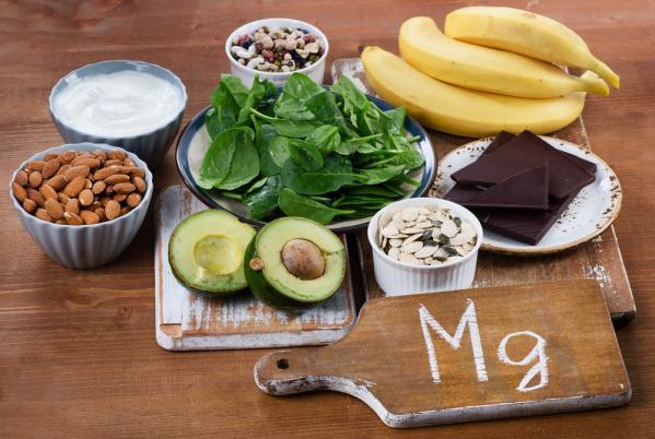 Aliments enrichis magnesium seniors