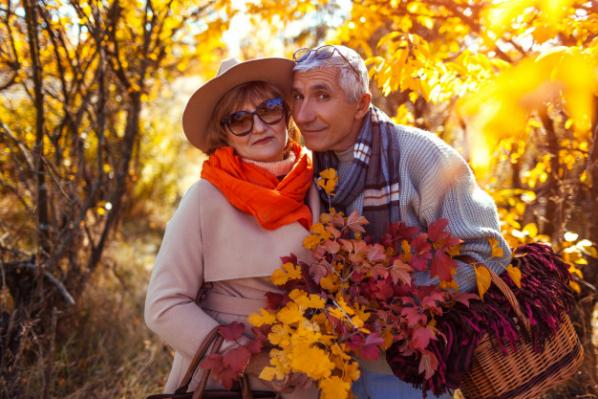 Couleurs d automne pour seniors