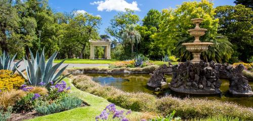Fitzroy jardin melbourne