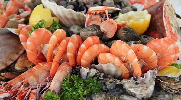 Fruits de mer plat prefere des seniors