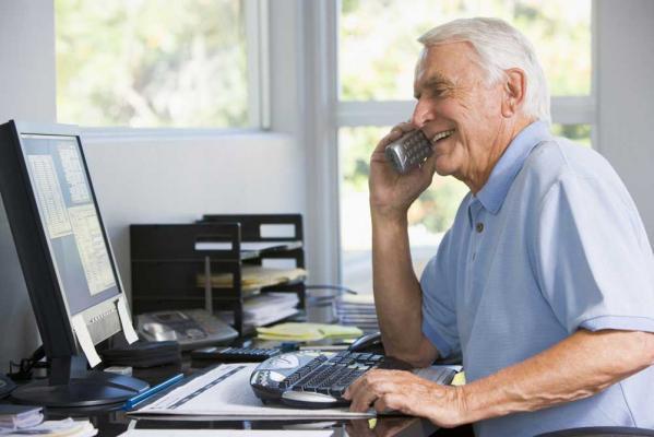 Retraite senior au travail
