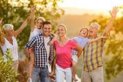 Seniors et le depart des enfants
