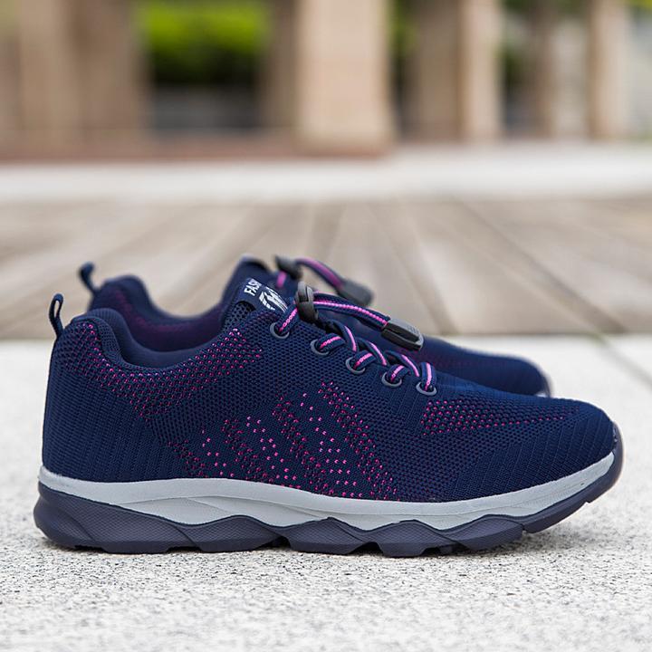 Chaussure de marche avec soutien de la voute plantaire seniors