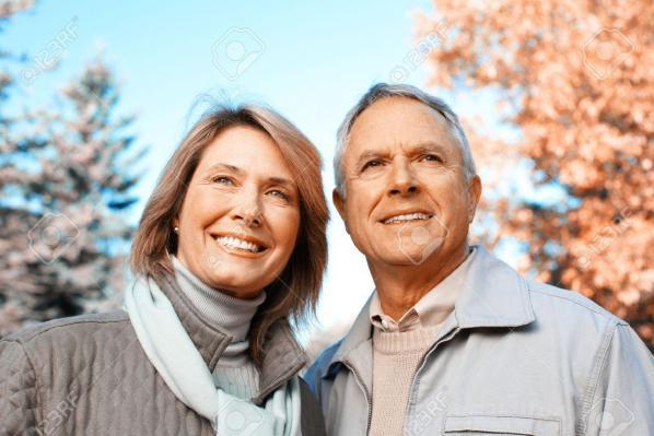 Couple de seniors 1