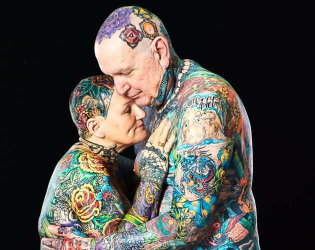 Couple tatoue