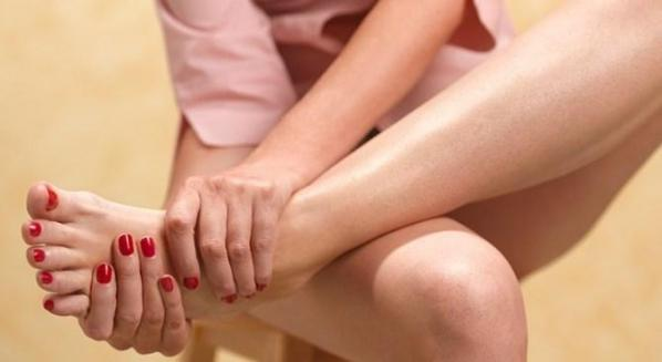 Massage pieds seniors