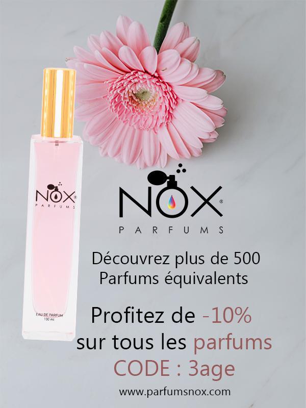 Parfums nox 3age seniors